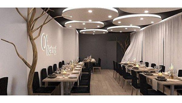 Ресторан для нудистов в Париже