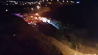 Обнаружены обломки упавшего в Саудовской Аравии вертолета. Видео