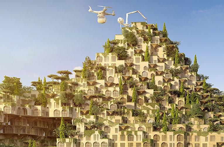 Проект восстановления Мосула при помощи 3D печати и дронов