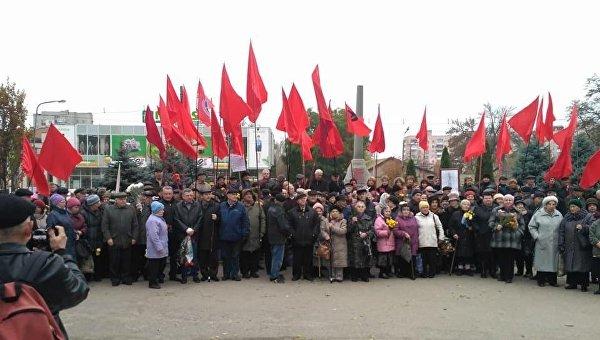 ВЗапорожье запропаганду коммунизма намитинге задержали 2 человек