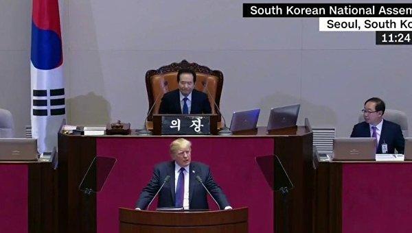 Трамп сделал резкое заявление в Южной Корее
