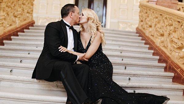 Наталья Севостьянова с супругом