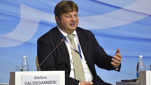 Депутат регионального совета Венето от партии Лига Севера Стефано Вальдегамбери