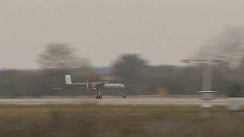 Летные испытания украинского беспилотника Горлица. Видео