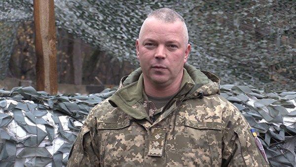 Командующий сил АТО Михаил Забродский