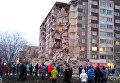 Обрушение жилого дома в Ижевске