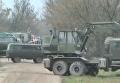 Блокирование дороги с боеприпасами на утилизацию в Винницкой области