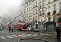 Пожар в центральном районе Парижа. При возгорании магазина одежды пострадали шесть человек
