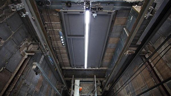 Шахта лифта. Архивное фото