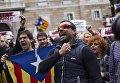 Всеобщая забастовка в Каталонии. Архивное фото