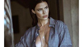 Латышская модель Юлия Лескова