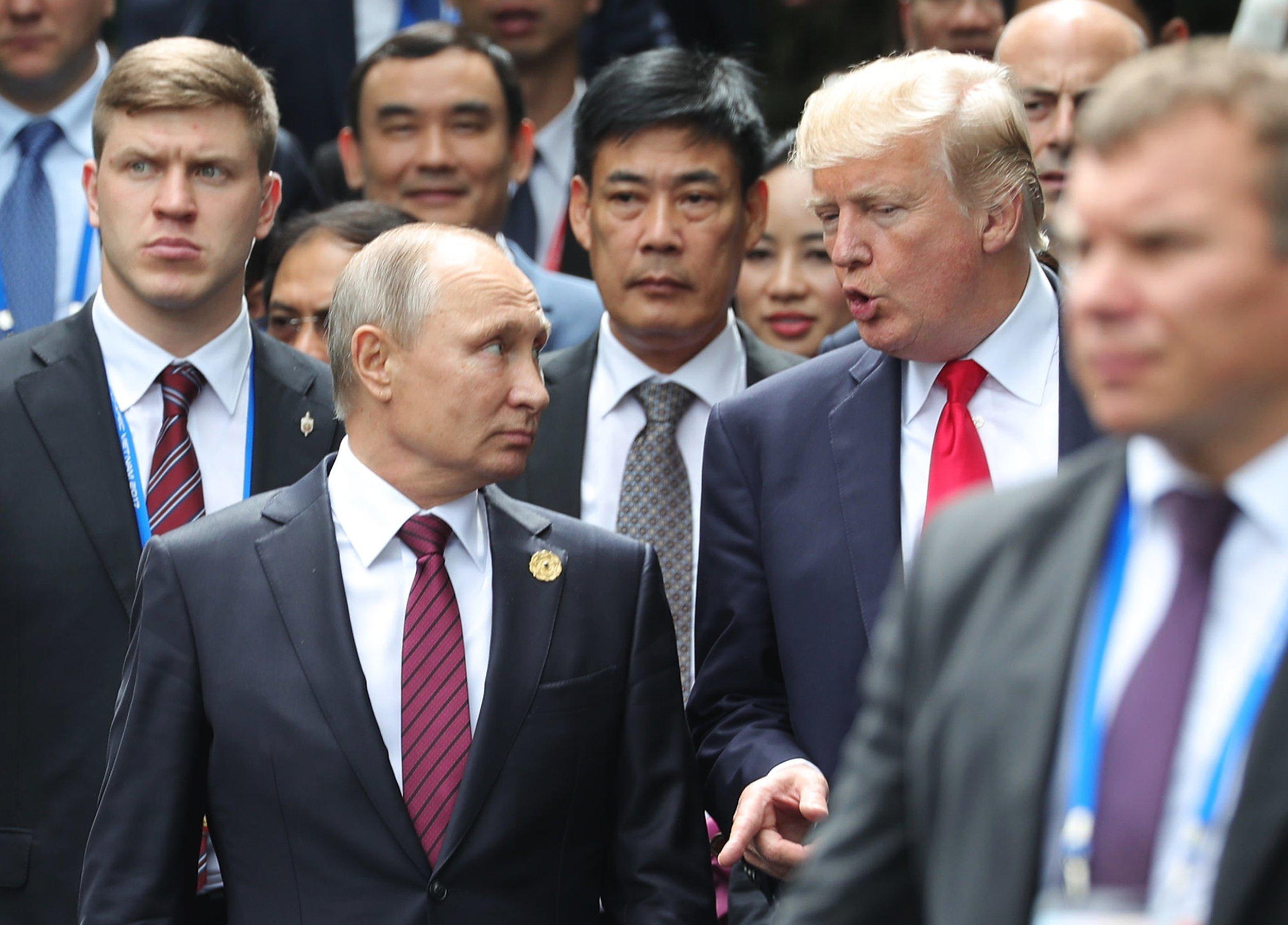 Путин иТрамп обсудили объявление поСирии впроцессе саммита АТС