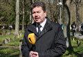 Глава Антифашистского комитета Эстонии Андрей Заренков