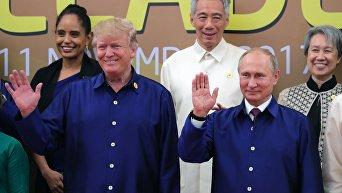 Визит президента РФ В. Путина во Вьетнам для участия в саммите АТЭС