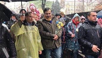 Марш за импичмент президенту в Киеве