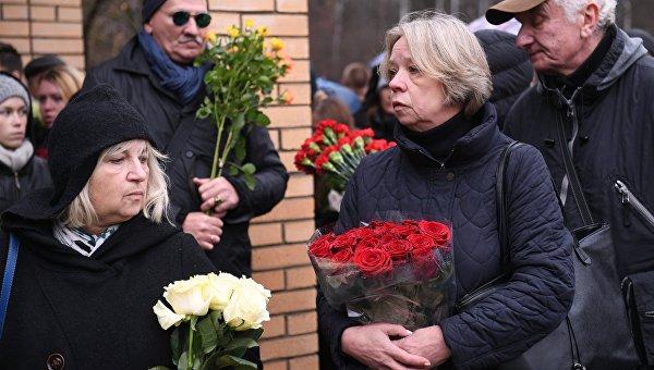 Прощание с Михаилом Задорновым