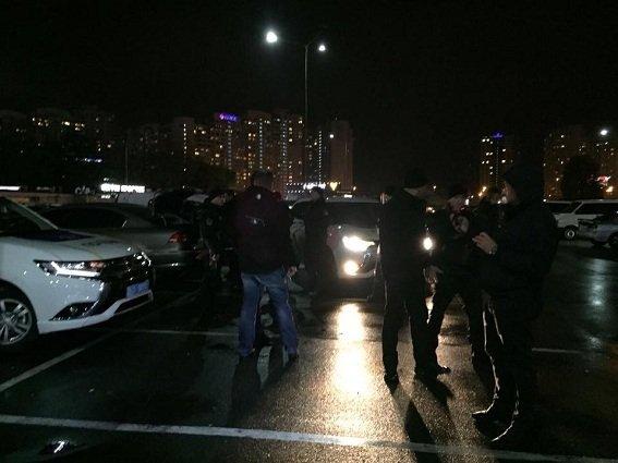 Операция по изъятию взрывчатки в Киеве 12 ноября 2017