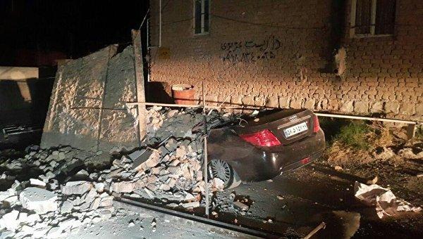 Мощное землетрясение в Иране