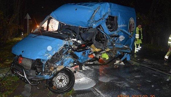 Украинский автобус с заробитчанами разбился в Словакии