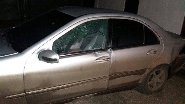 Мужчина расстрелял дом иавто бывшей супруги вКиевской области