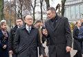 Глава Всемирного банка Джим Йонг Ким и мэр Киева Виталий Кличко