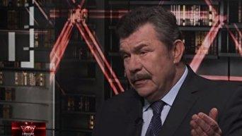 Экс-министр обороны Александр Кузьмук. Видео
