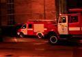 В Киеве загорелся институт. Видео