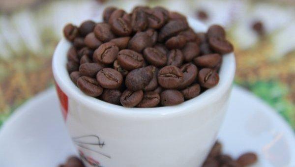 Кашка с зернами кофе