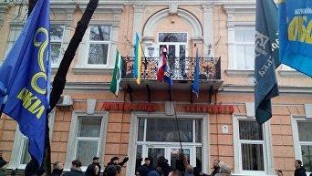 Инцидент с венгерским флагом