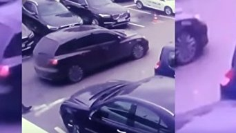 Ограбление в Киеве. Видео