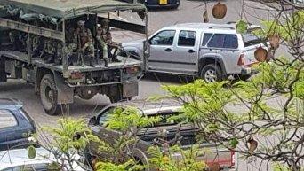 Военные вошли в столицу Зимбабве Хараре