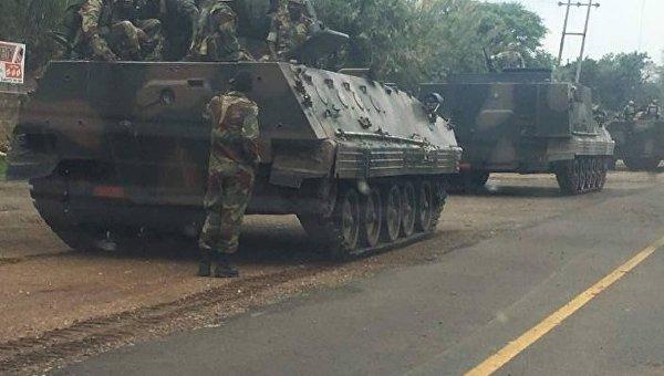 Военный переворот вЗимбабве: стало известно обаресте президента Мугабе