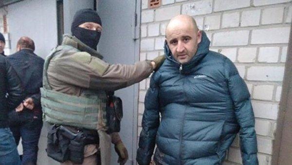 Грабители, задержанные в Киеве