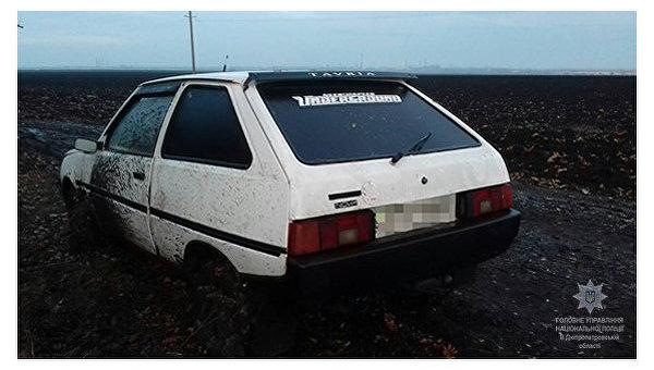 Автомобиль убийцы задержан в Днепропетровской области