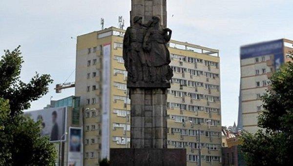 Памятник благодарности Красной армии в Щецине