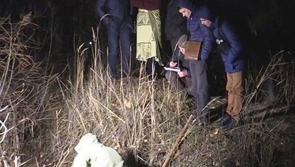 В Киеве мужчина закопал молодую девушку