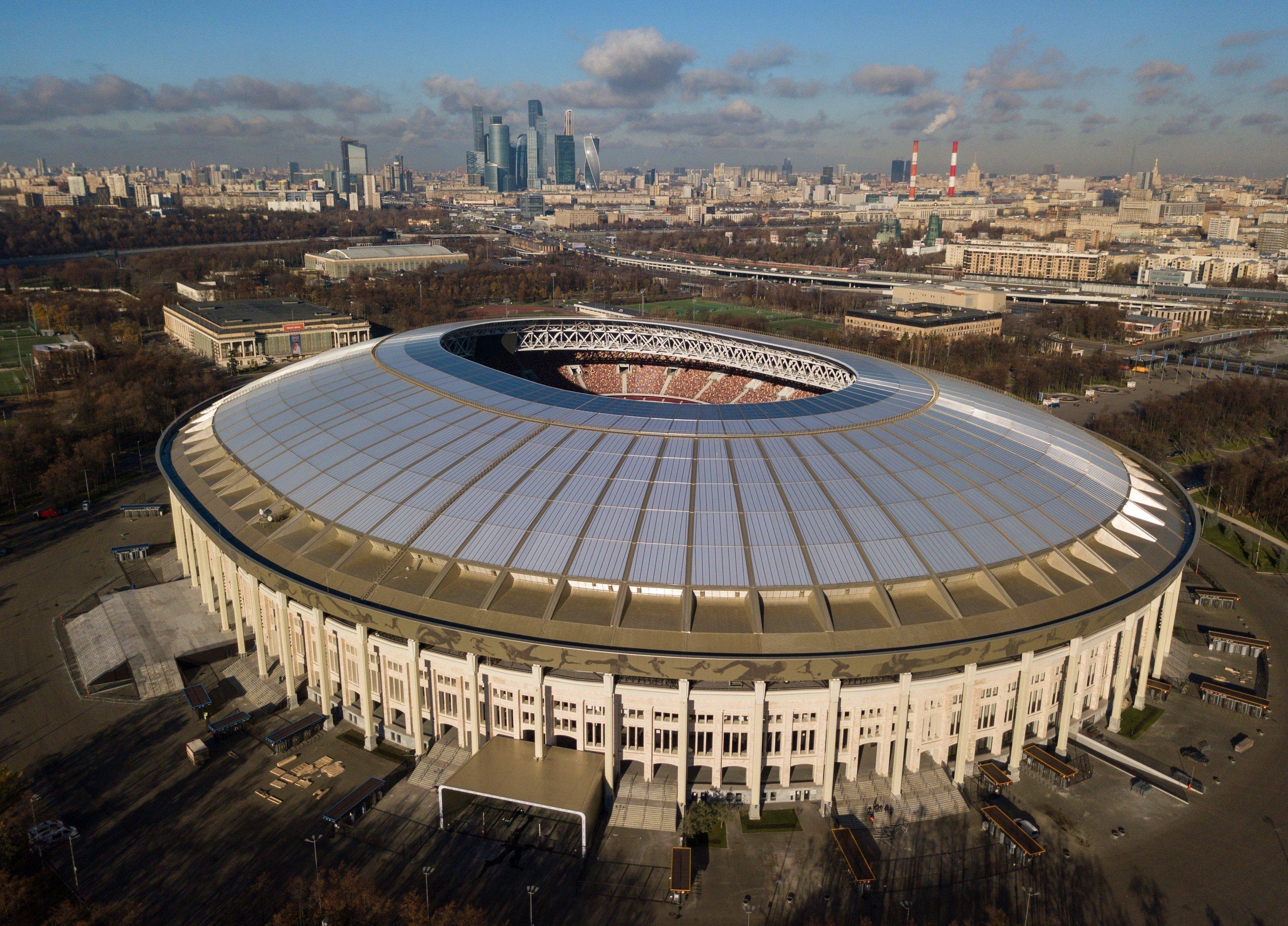 фото всех стадионов москвы
