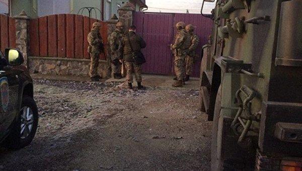 Спецоперация на Закарпатье по делу государственной границы