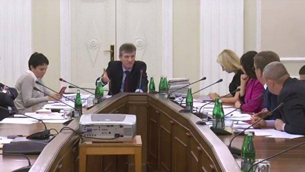 Заседание комиссии по выборам главы Госбюро расследований