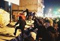 Националисты захватили стройку на Сенном рынке в Киеве
