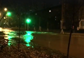Прорыв воды в Днепровском районе Киева