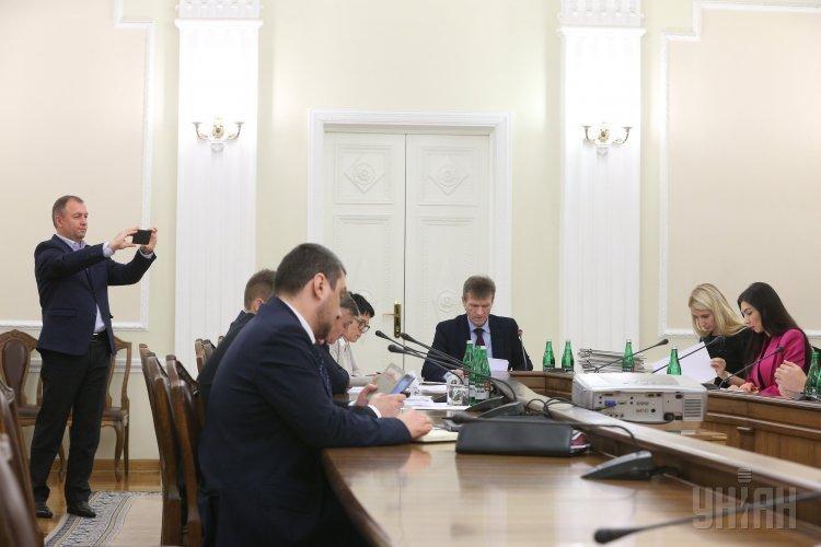 Заседание комиссии по проведению конкурса на занятие должностей директора Государственного бюро расследований