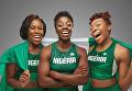 Сеун Адигун, Нгози Онвумере и Акуома Омеога. Нигерия на зимних ОИ-2018