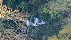 В небе над Великобританией разбился пассажирский самолет, который столкнулся с вертолетом