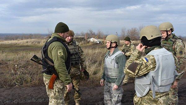Военная делегации США посетила район спецоперации в Донбассе