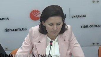 Елена Дьяченко о реинтеграции Донбасса. Видео