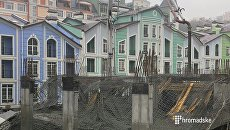 Обвал дома в Киеве