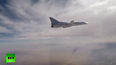 Опубликовано видео ударов ВКС России по боевикам ИГ в Сирии