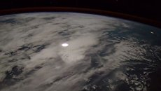 Итальянский астронавт снял с МКС падение метеора