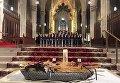 Церемония почтения памяти жертв Голодомора в Соборе Святого Патрика в Нью-Йорке